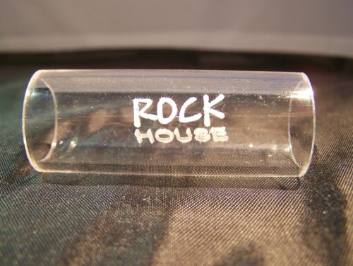 Guitar Slide - By ROCK HOUSE, Thick Medium Ring Size 8-10
