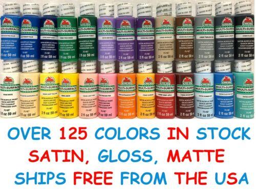 Apple Barrel Acrylic Paint Matte Satin Gloss 2 oz 8 oz - Build Your Color Set