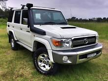 2011 Toyota LandCruiser GXLV8 4x4 Turbo Diesel Wagon, 5 sp Manual Crescent Head Kempsey Area Preview