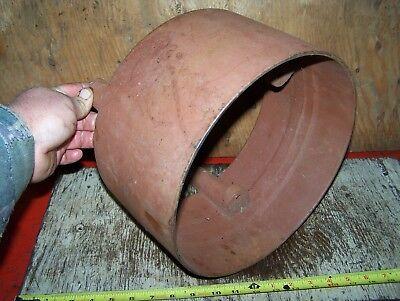 Old Unknown Cast Iron Belt Pulley Hit Miss Gas Engine Corn Sheller Steam Oiler