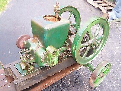 1 12hp Fairbanks Morse Z Hit Miss Type Sumter Plugoscillator Gas Engine Nice