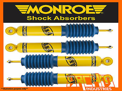 HOLDEN COLORADO 4WD ALL VARIANTS 708 ON F  R MONROE GAS MAGNUM SHOCK ABSORBERS