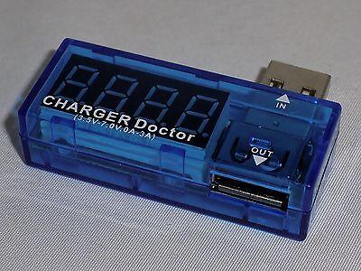 usb power charger tester voltage amperage amp
