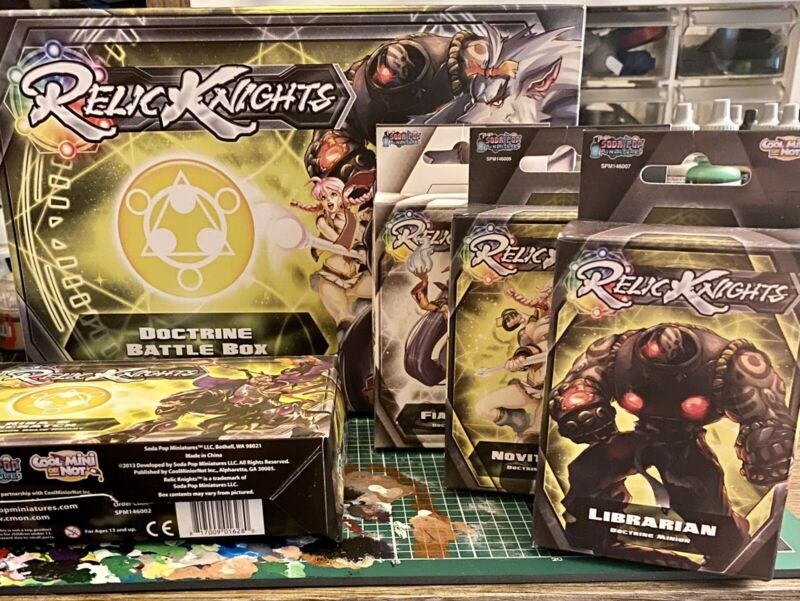 Relic Knights Lot