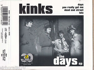 KINKS-The-Days-Ep-CD-Single