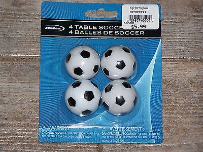 New 4X 36mm SOCCER TABLE football FOOSBALL BALLS Wholesale lot of 4 USA
