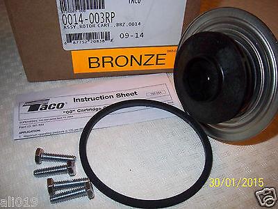 Taco 014 Replacement Bronze Cartridge  Circulating Pump Wood Furnace Maintenance