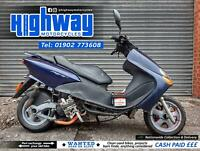 2000 Yamaha YP 125 Majesty Running Scooter Spares or Repairs HPI Clear