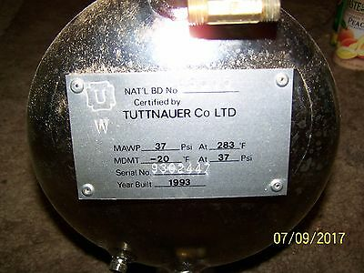 Tuttnauer Autoclave Sterilizer 1730ek Chamber Assembly Wmounting Hardware