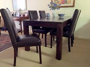 Dining Table and 5 Chairs Newcastle East Newcastle Area Preview