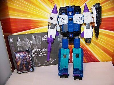 Transformers Overlord Titans Return Leader Class Decepticon Hasbro SHIPS FAST