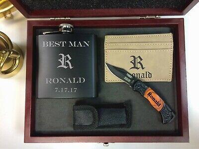 Groomsmen Gifts, Best Man Gift, Groomsman Gift box, Groomsmen Gift Set, (Best Man Gift Box)