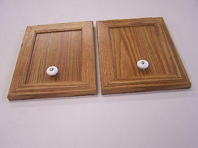 COLEMAN FLEETWOOD CABINET DOORS (U-49)