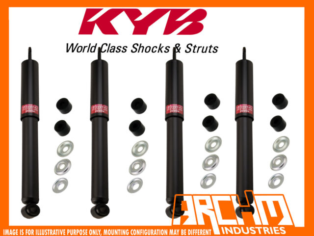 MAZDA B SERIES 4WD 02/1999-12/2002 FRONT & REAR KYB SHOCK ABSORBERS