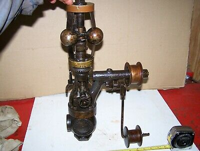 Old 1 Pickering Steam Engine Tractor Governor Hit Miss Oil Field Cast Iron Nice