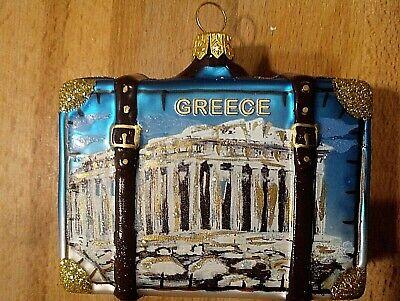 Weihnachtsschmuck,Weihnachtsanhänger,Christbaumschmuck,Koffer,Griechenland,Ellas