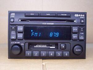 2004 maxima radio removal