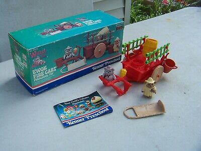 Vintage Kenner Preschool Ewok Fire Cart Complete w/ Box