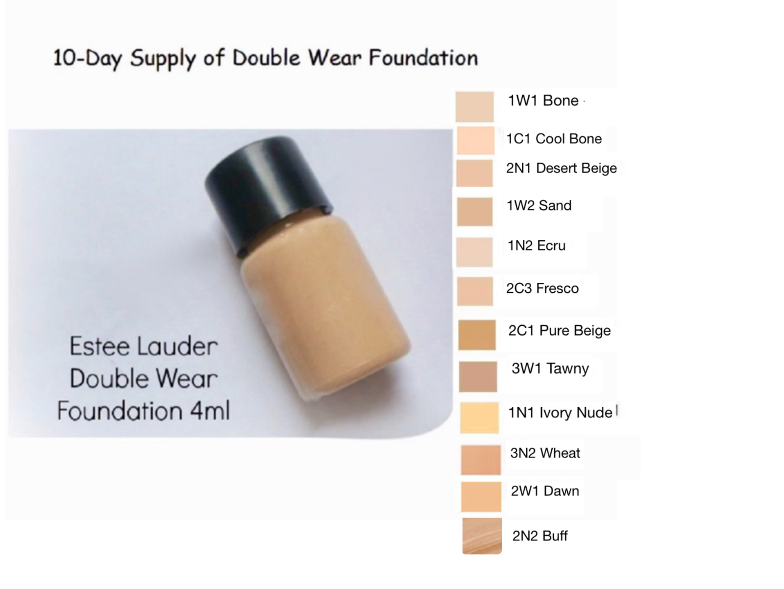 Estee Lauder Double Wear Stay-in-Place Makeup Foundation tra