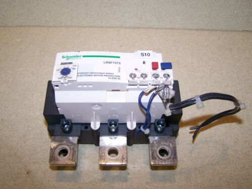USED Schneider Electric LR9F7575 Overload Relay in Good Condition
