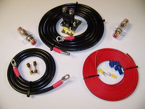 dual battery kit heavy duty dual auxiliary battery isolator w cables complete kit 150a