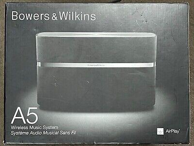 Nuevo Bowers & Wilkins A5 Hogar Música Inalámbrica Sistema Wi-Fi Altavoz