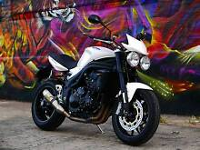 Triumph Speed Triple 1050 with Arrow Exhaust Red Hill Brisbane North West Preview