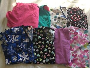 Size small scrub tops! $30 for all