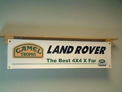 Land Rover Camel Trophy Landrover Special Vehicles workshop garage show display