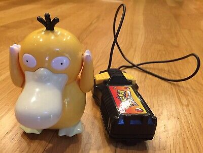 Official Pokemon REMOTE CONTROLLED Psyduck DUCK Figure - VINTAGE / RARE
