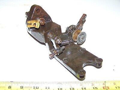 Old Stover 303k25 Webster Magneto Ignitor Bracket Hit Miss Engine Steam Oiler