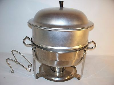 Seville Classics Commercial Chafing Dish Model 14009 4 Qt 1810 Stainless Steel