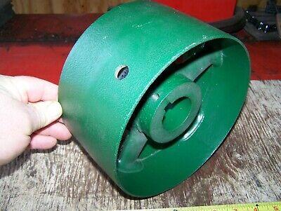 Cast Iron Belt Pulley Hit Miss Gas Engine Motor Steam Magneto Pump 2 14 Bore