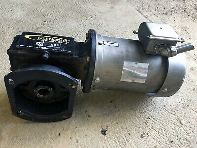 Right Angle Winsmith Gearbox W Hollow Output 3-phase Sterling Electric Motor