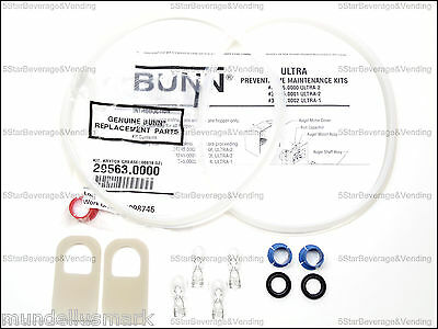 Bunn Ultra-2 Maintenance Kit 34245.0000 - Real Bunn Parts 007authentic Parts