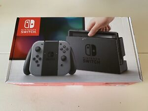 BRAND NEW w/receipt Nintendo Switch Grey warranty Never opened