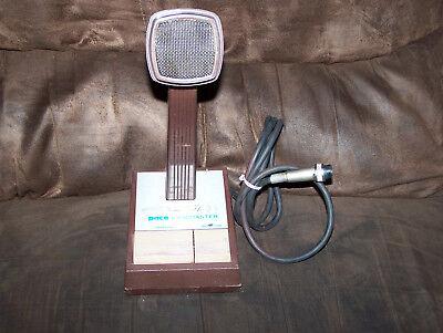 Vintage Ham Fm Radio Base Station Microphone.pace Landmaster