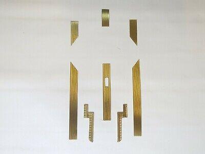 Telechron Electric Clock Brass Trim