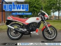 1986 Yamaha RD 125 LC Two Stroke Full Power Restored with 12 Month MOT
