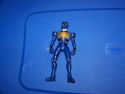 Power Rangers Jungle Fury : 2007 Bandai : Battlized Blue Ranger](Power Rangers Jungle Fury Blue Ranger)