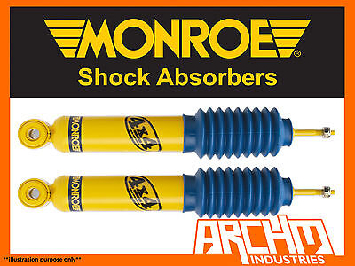 HOLDEN COLORADO 4WD ALL VARIANTS 708 ON REAR MONROE GAS MAGNUM SHOCK ABSORBERS