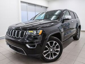2018 Jeep Grand Cherokee LIMITED 4X4 CUIR *NAVIGATION* GR. SECUR