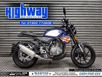2021 Hanway Furious SC 125 CBT Learner Legal Naked Style Motorcycle