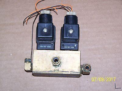 Tuttnauer 1730ek Fillvent Valve Block W Both Coils-autoclave Sterilizer