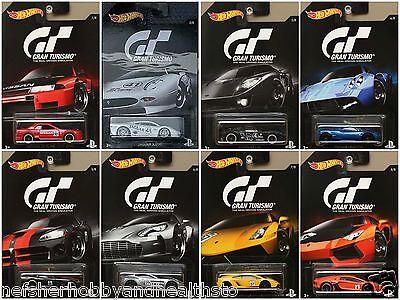 Hot Wheels Gran Turismo Series Diecast Metal Toy Car 1:64 *AIR MAIL*