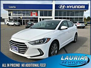 2017 Hyundai Elantra GL Auto - Bluetooth  / Backup camera