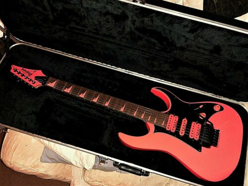 Ibanez RG1XXV Fluorescent Pink Electric Guitar 25th Anniversary Limited Edition