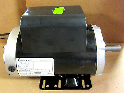 Century B386 7-182679-01 Air Compressor Electric Motor 5hp