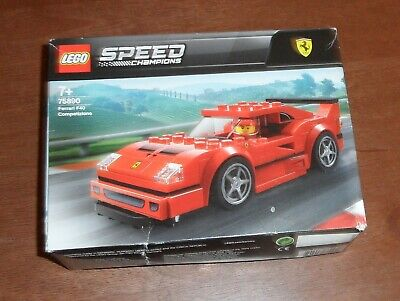 LEGO Speed Champions Ferrari F40 Racing Car Competizione Building Set Kids Fun