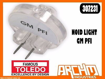 - TOLEDO 307231 - NOID LIGHT - GM PFI - ELECTRONIC FUEL INJECTION SIGNALS EFI